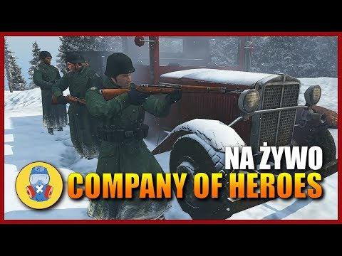 Company Of Heroes 2 PL realizm gameplay na żywo