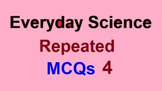 Solved Questions Everyday Science General Knowledge NTS PMS CSS FPSC PPSC AD