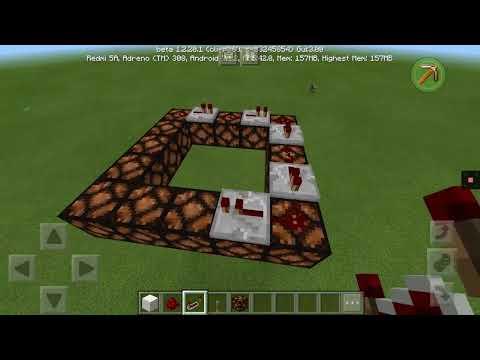 Membuat lampu kelap kelip di Minecraft mudah