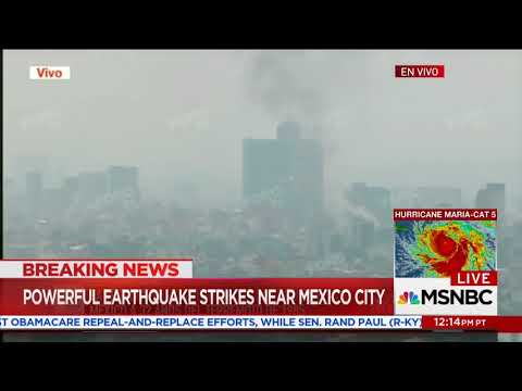 7.1 Magnitude Earthquake ROCKS Mexico City