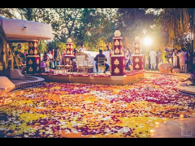 Wedding Decoration Ideas For Reception, Sangeet and Mehndi