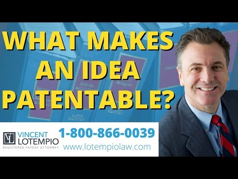 Can I Patent My Idea? - What Makes an Idea Patentable? - Inventor FAQ - Ask an Attorney