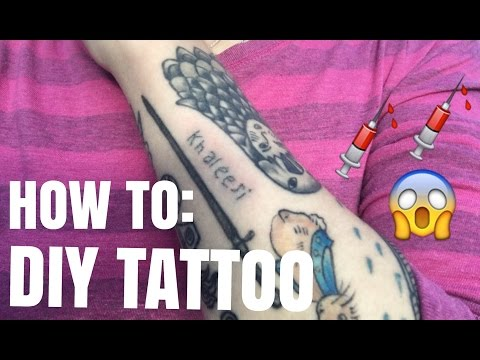 DIY TATTOO?? : How to give yourself a SnP Tattoo