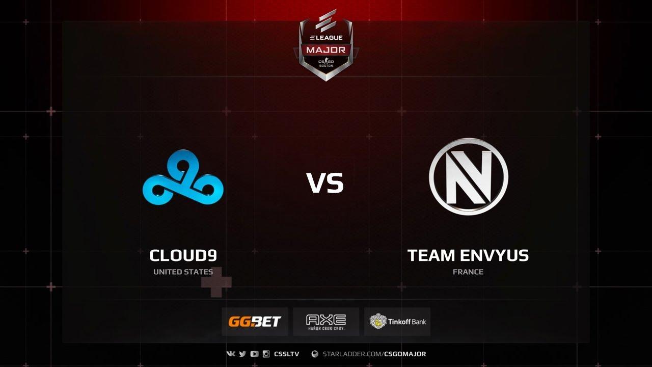 EnVy vs Cloud9, Main Qualifier, ELEAGUE Major: Boston 2018