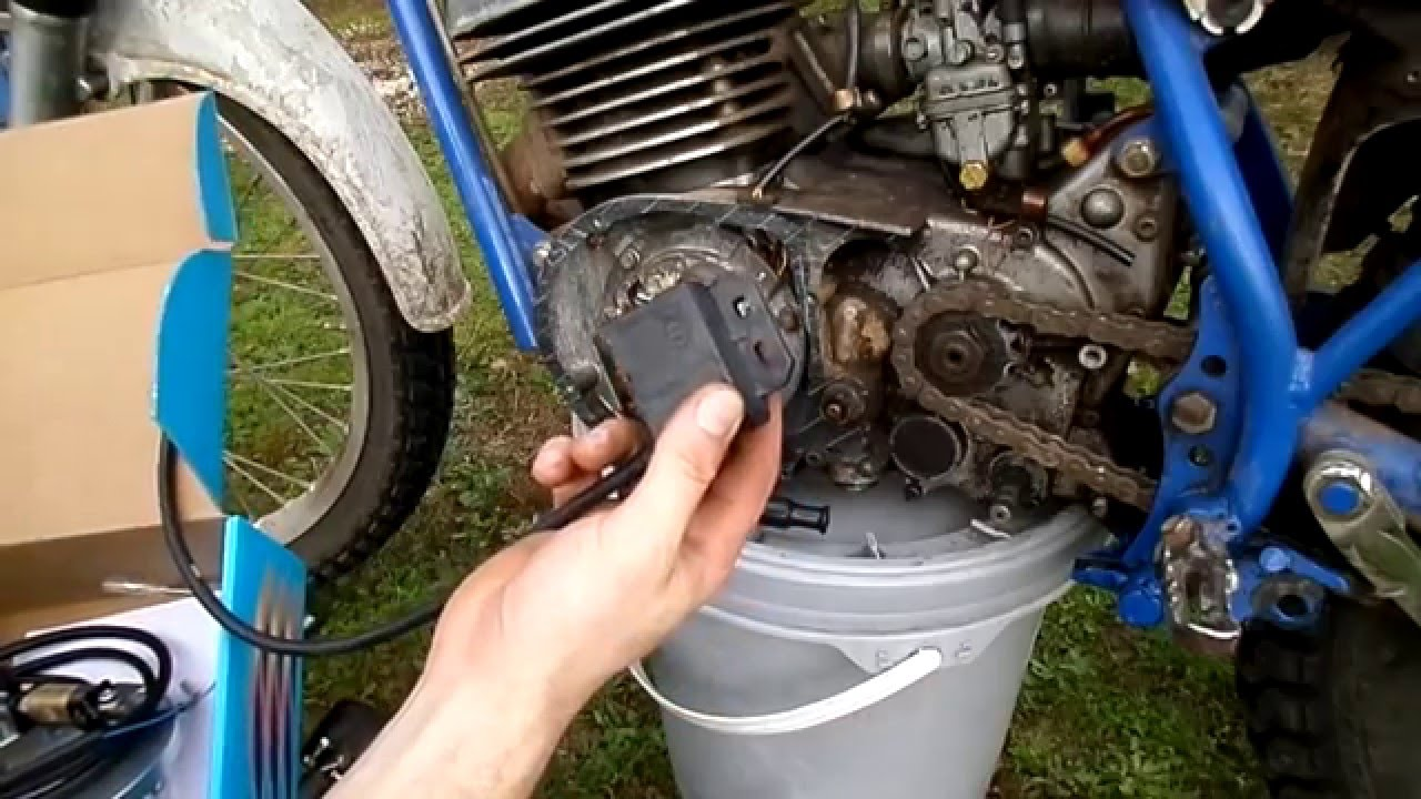 ty250 electronic ignition conversion [ 1280 x 720 Pixel ]
