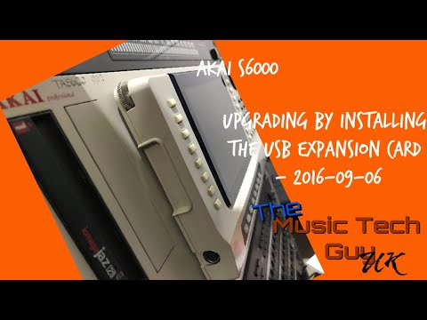 Upgrading the AKAI S6000 - Installing the USB Expansion Card