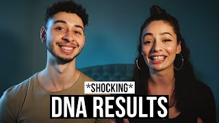 DNA TEST RESULTS *SHOCKING* | MyHeritage DNA Eurovision Kit