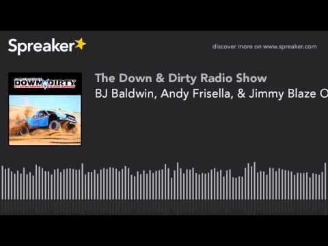 BJ Baldwin, Andy Frisella, & Jimmy Blaze On Air!
