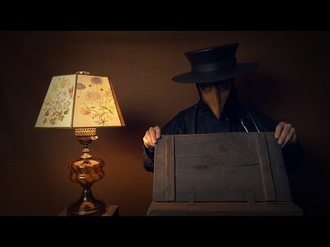 What's in the Box #1 with Corvus Clemmons, ASMR Plague Doctor