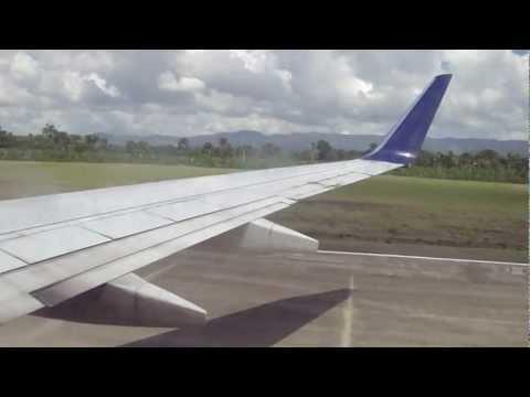 Llegando a Santiago, Dominican Republic Delta JFK to Santiago, Republica Dominicana