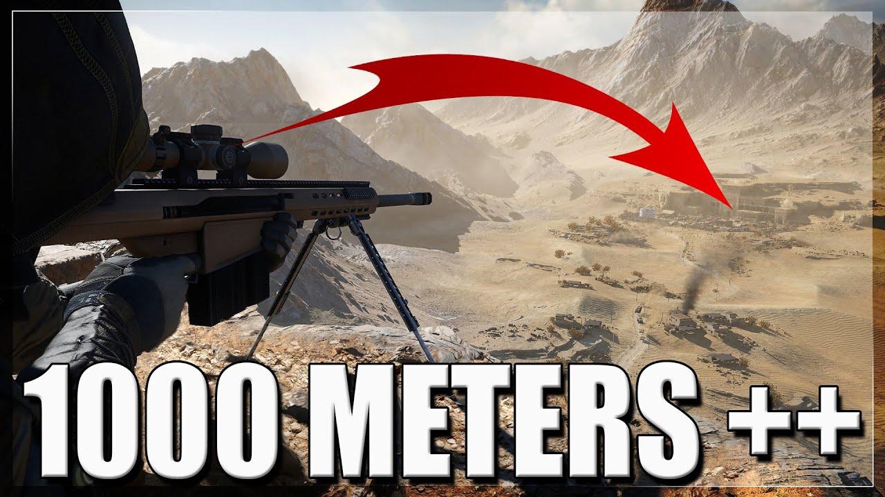50 CALIBER HEAVY BULLET | HEADSHOT 1 KILLS 1000 METERS ++ (Sniper Ghost Warrior Contracts 2)