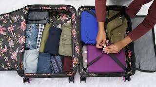 Vera Bradley Luggage 74ef0c5c2fba7