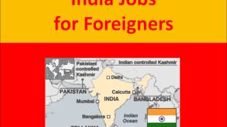 India Jobs for Foreigners