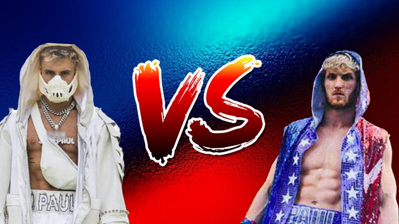 Jake paul VS Logan Paul(YOUTUBE STATISTICS) - YouTube