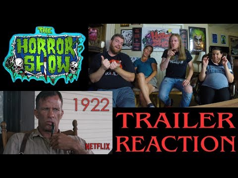 """1922"" 2017 Stephen King Netflix Movie Trailer Reaction - The Horror Show"