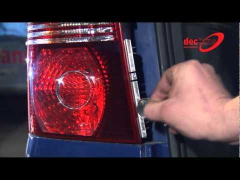 VW Touran - задние фонари