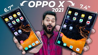 OPPO X 2021 Rollable Phone Hands On & First Impressions | 125W Charger 😮 ⚡ This Is The Future