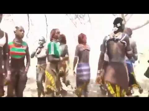 Traditional life of Africa tribes   Indians of Africa