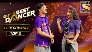 Download lagu Tiger और Vartika ने किया Jetha और Babita को Copy | India's Best Dancer | Best Of Top 5