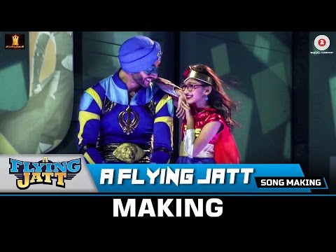 A Flying Jatt (Title Track) - Song Making | Tiger...