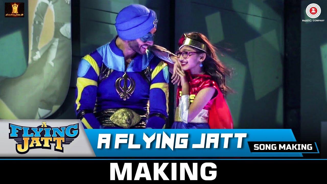 Download A Flying Jatt (Title Track) - Song Making   Tiger Shroff & Jacqueline Fernandez   Sachin - Jigar