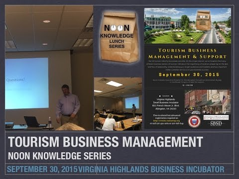 Tourism Business Management & Support Noon Knowledge, September 30, 2015