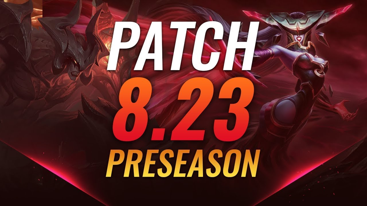 Best Champions Patch 8 23 Tier List Preseason Youtube