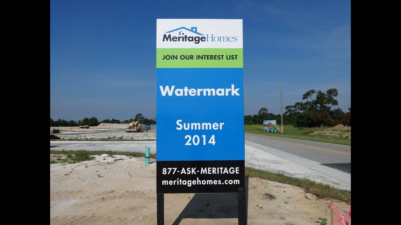 watermark by meritage homes in winter garden florida youtube