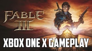 Fable III Xbox One X Gameplay (Upscaled 2160p)