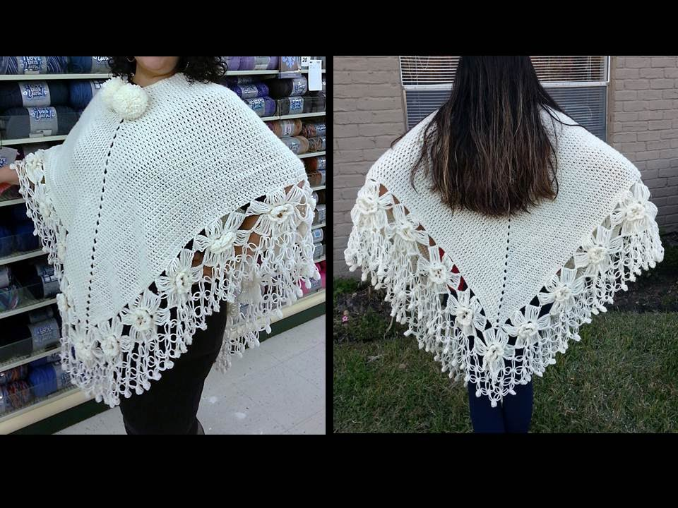 crochet poncho how to make
