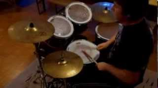 Britny Fox -- Long Way To Love -- Drum Cover By Jernej Fric