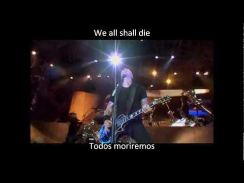 Metallica- Fight Fire Whith Fire (Lyrics y Subtitulos en español)
