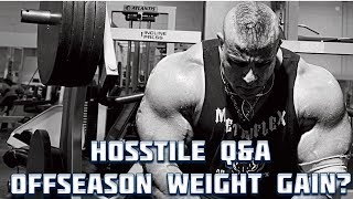 HOSSTILE Q&A #2 / Part 1 Overcoming The Uncomfortable Feeling Of The Offseason