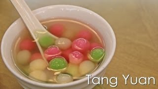 Tang Yuan (汤圆) Glutinous Rice Ball - Dongzhi Festival - Recipe By Zataya Yummy