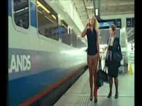 NEW .Tel Commercial Ending  Alternate Ending Sexier Laura Haddock DotTel Girl