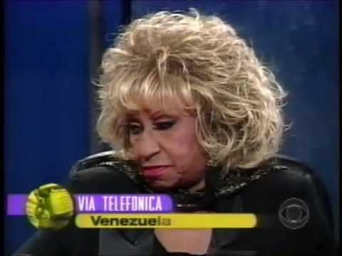 """""""CELIA CRUZ"""" en directo con """"Jayme Bayly"""" (CBS 1997) Parte 2"""