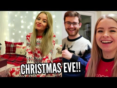 CHRISTMAS EVE!! COOKING, WRAPPING PRESENTS + FEELING FESTIVE | sophdoesvlogs