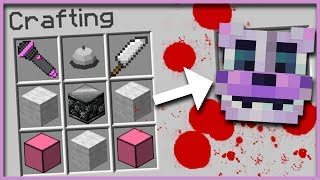 Minecraft FNAF - How to Summon FUNTIME FREDDY in a Crafting Table!