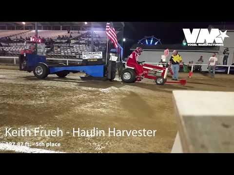 Garden Tractor Pull 1050# SS Salem IL 2017