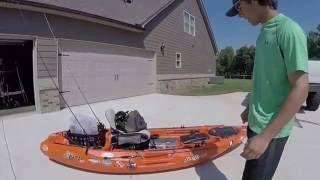 Kayak Tour--- Feelfree Lure 10