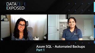 Azure SQL - Automated Backups (Part 1) | Data Exposed