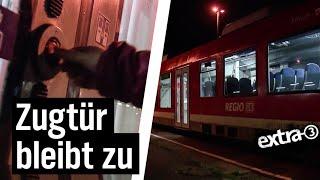 Realer Irrsinn: Leerer Zug in Thüringen | extra 3 | NDR