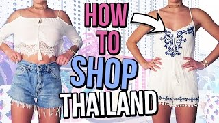 One of Laura Reid's most viewed videos: How To Shop In Bangkok Thailand | Cheap Clothing Try On Haul