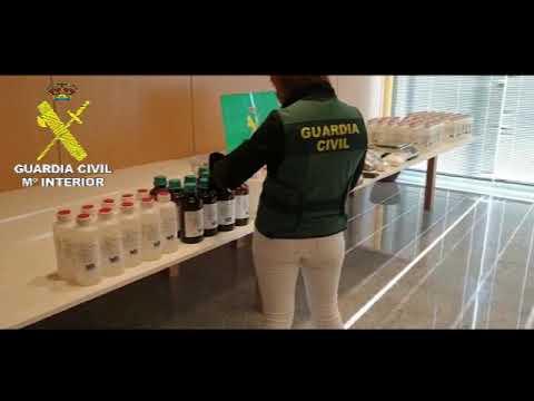 La Guardia Civil detiene a cuatro vecinos de Vilagarcía por tráfico de drogas