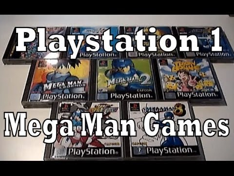 All Mega Man games for Playstation 1   YouTube All Mega Man games for Playstation 1