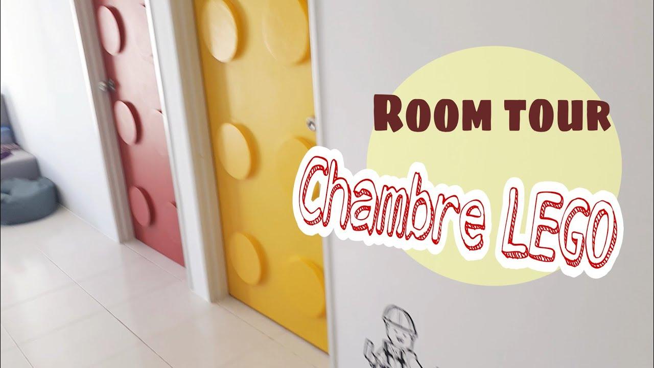 Room Tour  Notre chambre LEGO  Idée décoration chambre enfant