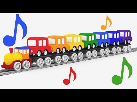 Cartoni Animati per Bambini - la canzone dei colori e le Macchinine colorate