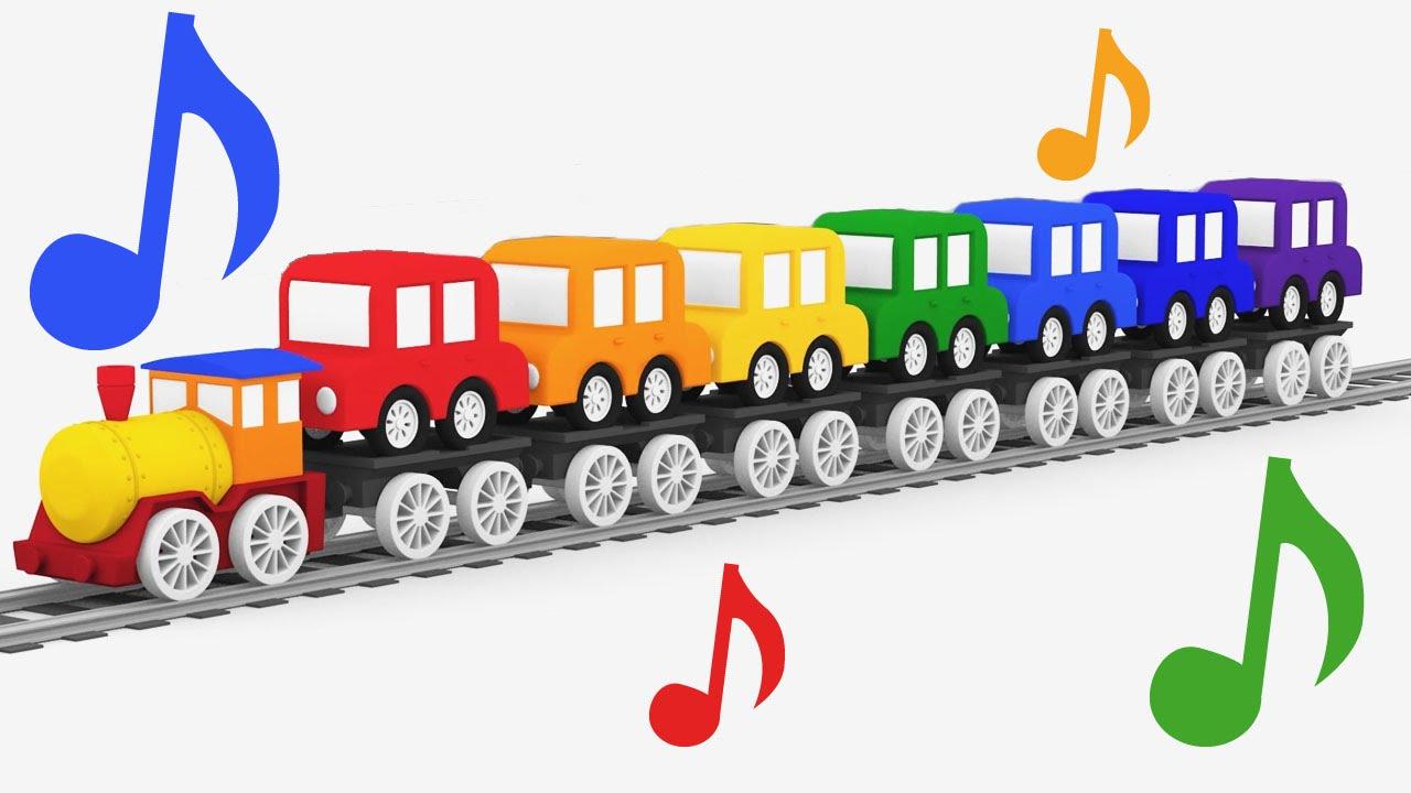 Cartoni animati per bambini la canzone dei colori e le