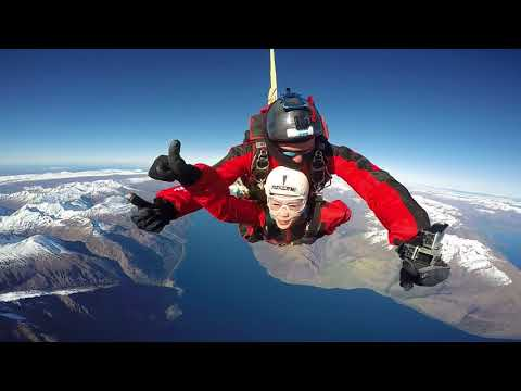 [Nichole Ang] Skydive From 15,000ft @ NZONE Queenstown NZ On 22 Sep 2017
