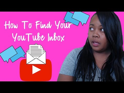 YouTube Inbox Tutorial: How To Find Your YouTube Inbox 2018